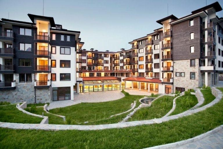 St george ski and spa for Moderne skihotels
