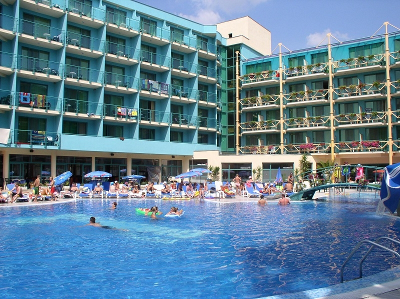 Diamond Hotel Is 4 Situated In One Of The Gest And Most Famous Resorts At Bulgaria Seaside Sunny Beach Resort Distance To Sea