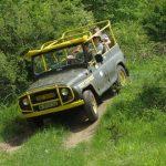 Jeep safari in Balkan mountains