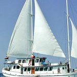 Picnic on a yacht